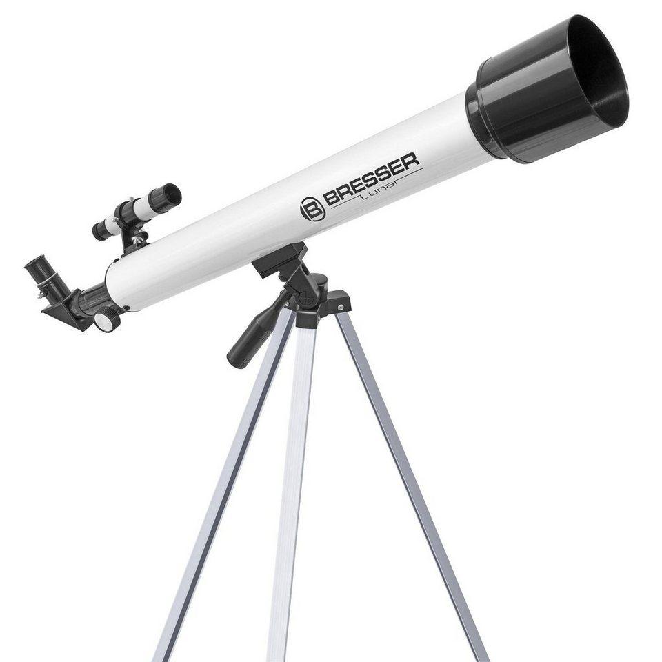 Bresser Teleskop »BRESSER Lunar 60/700mm AZ Teleskop«