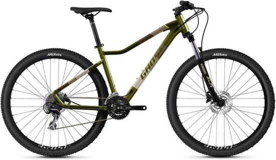 Ghost Mountainbike »Lanao Essential 27.5 AL W«, 24 Gang Shimano Acera 8-fach Schaltwerk, Kettenschaltung
