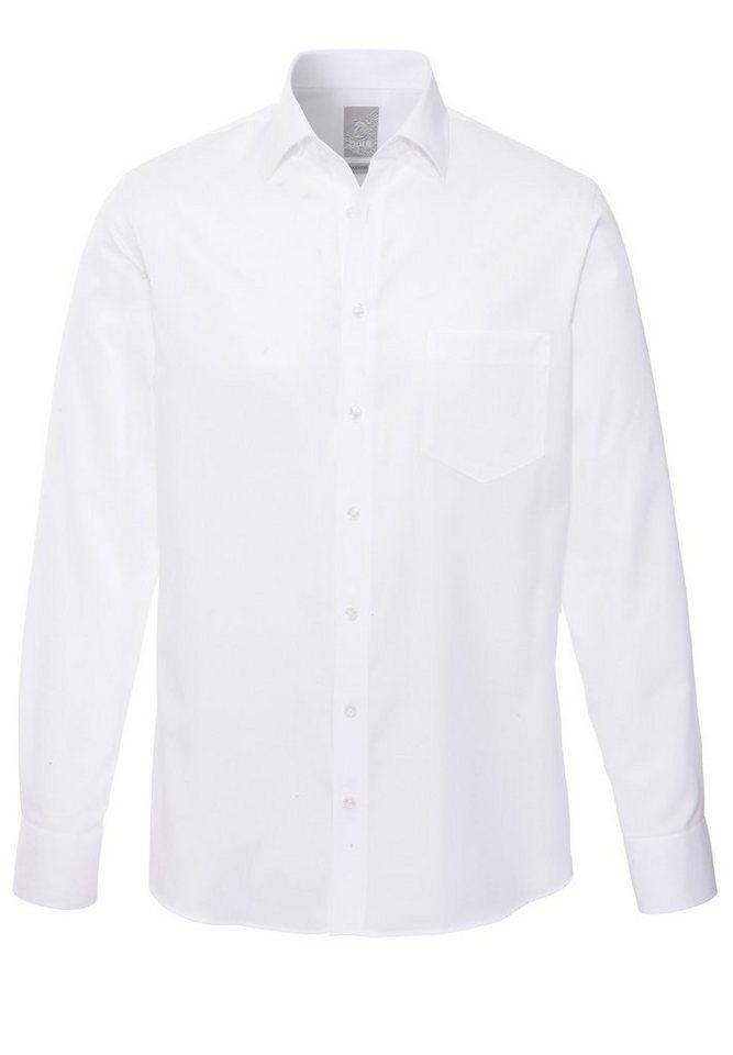 Pure Businesshemd in uni weiß
