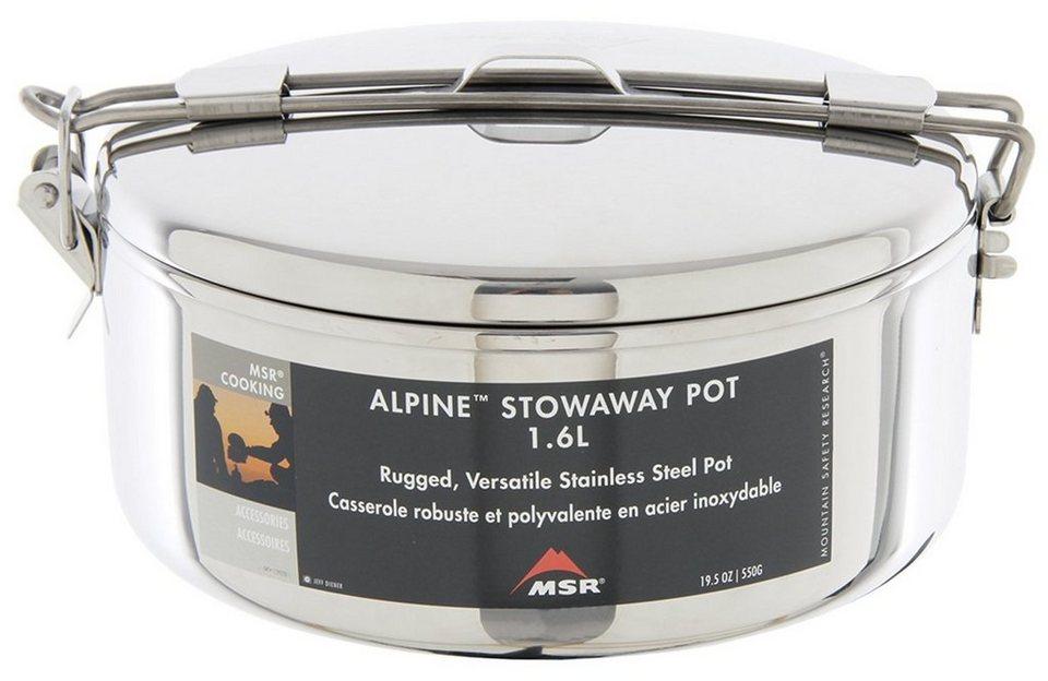 MSR Camping-Geschirr »Alpine Stowaway Pot 1,1L« in silber