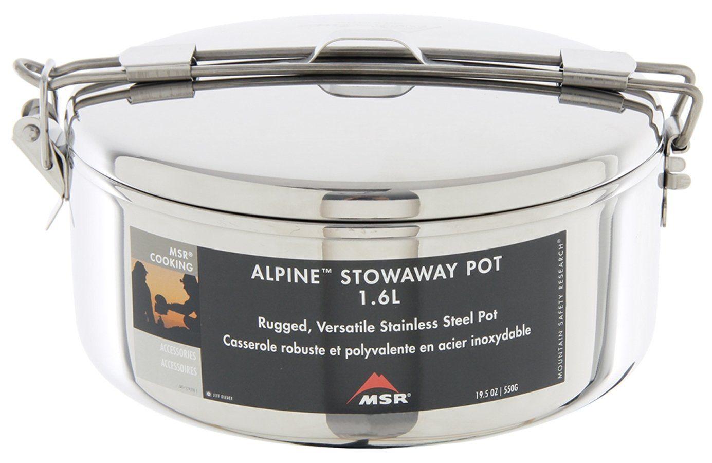 MSR Camping-Geschirr »Alpine Stowaway Pot 1,1L«
