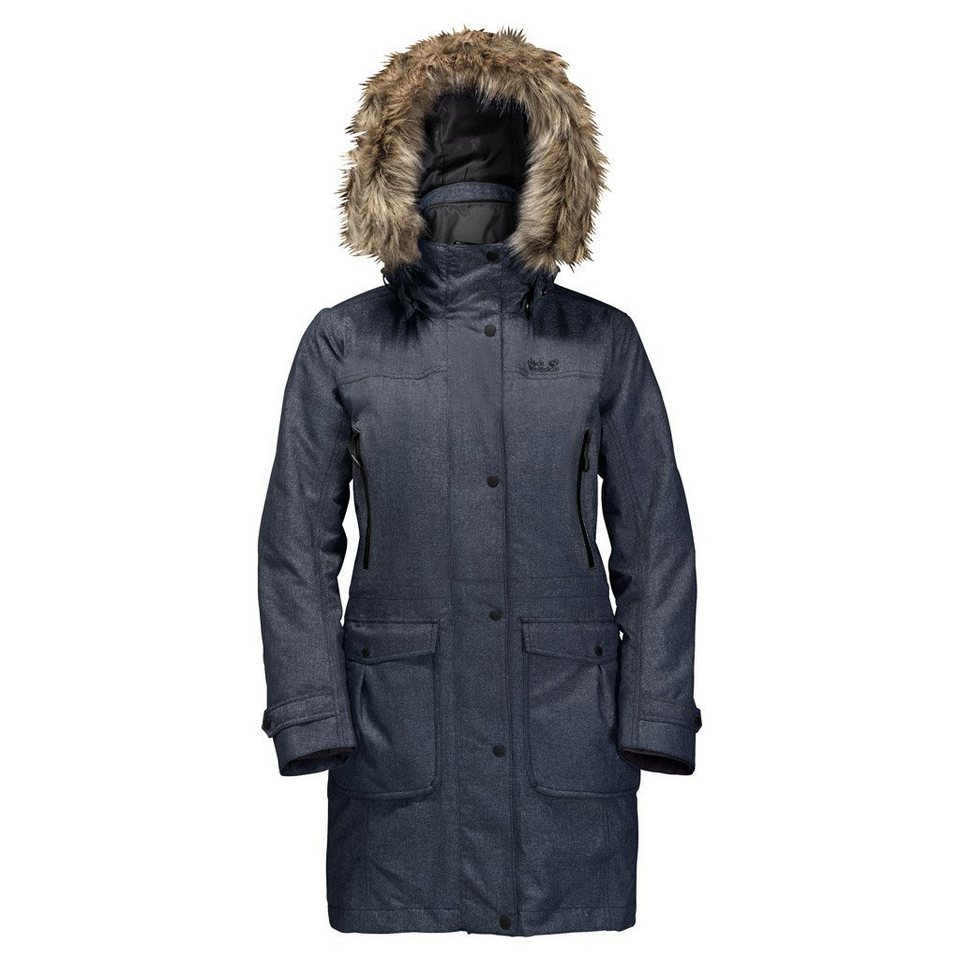 Jack Wolfskin Outdoorjacke »MAJESTIC PEAKS« 2 teilig in night blue