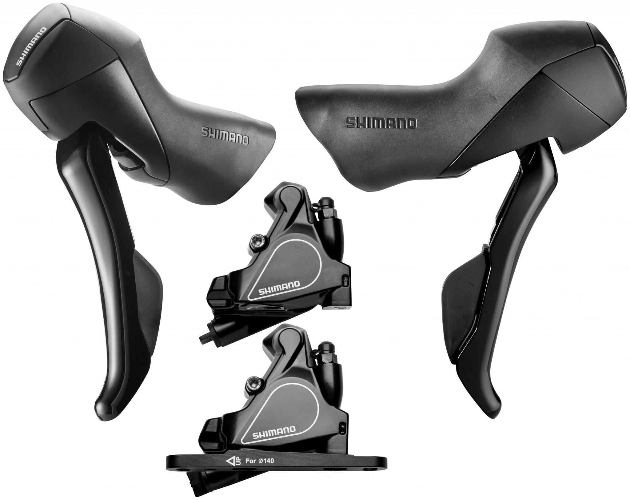 Shimano Scheibenbremse »Road ST-RS405/BR-RS405 Scheibenbremsen-Set«