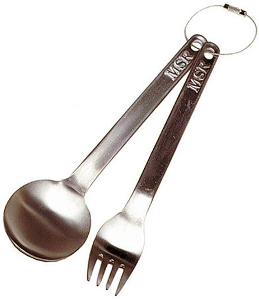 MSR Camping-Geschirr »Titan Fork & Spoon«