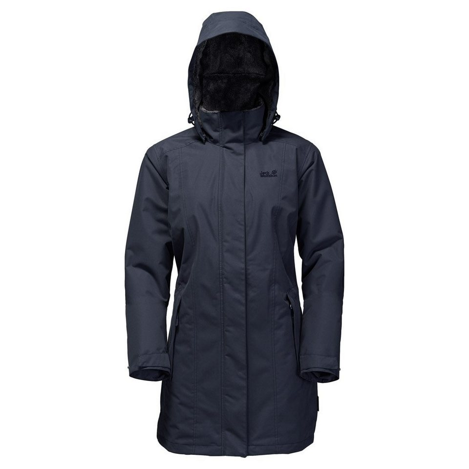 Jack Wolfskin Outdoormantel »MADISON AVENUE COAT« in night blue