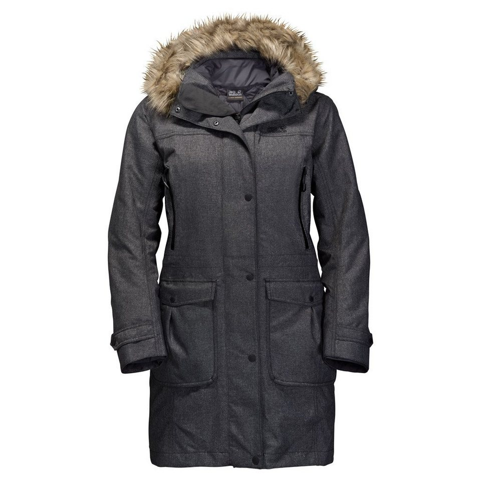 Jack Wolfskin Outdoorjacke »MAJESTIC PEAKS« 2 teilig in black