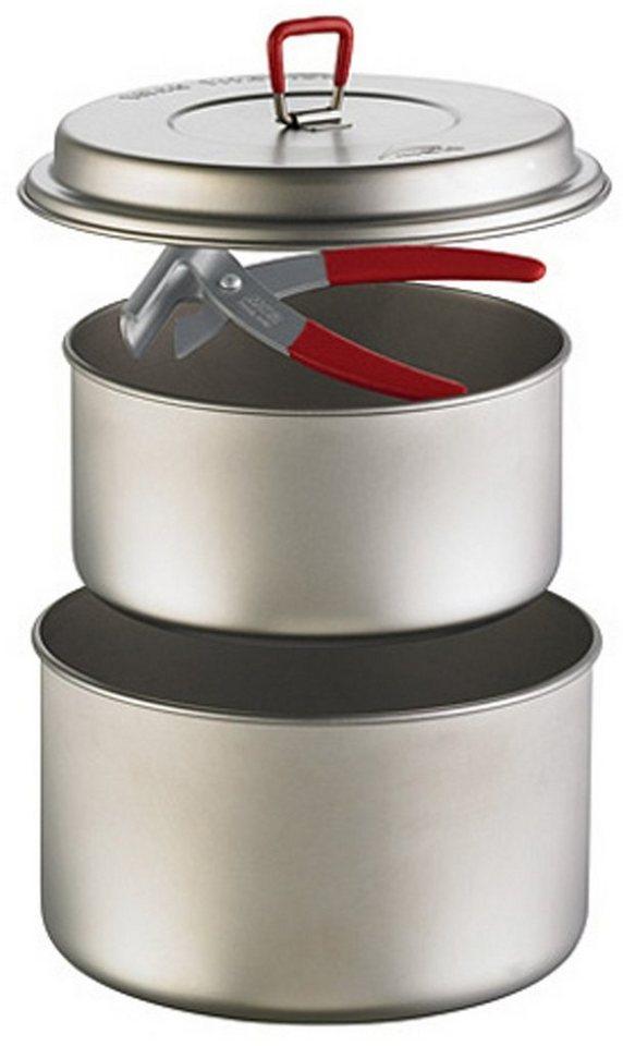 MSR Camping-Geschirr »Titan 2 Pot Set« in grau