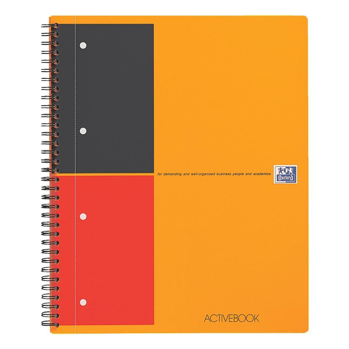 Oxford Collegeblock 100102994 A4+ liniert »International Activebook«