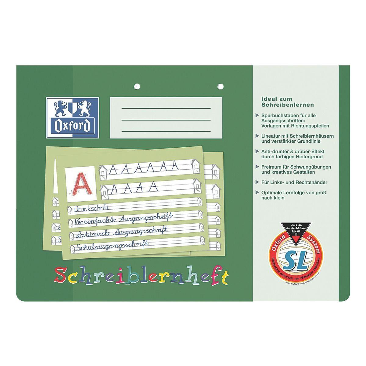 Oxford Schreiblernheft 100050089