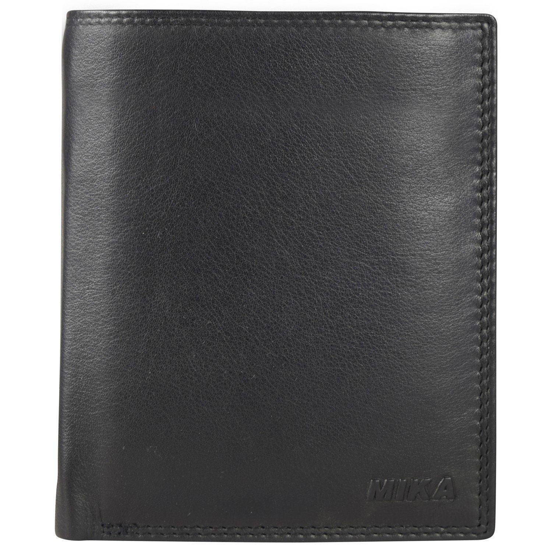 Mika Lederwaren Accessoires Geldbörse Leder 10,5 cm
