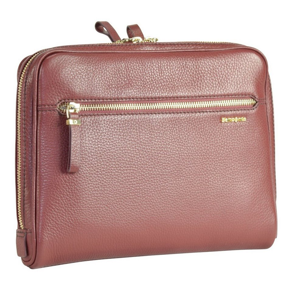 Samsonite Highline Tablet Tasche Leder 28 cm in bordeaux