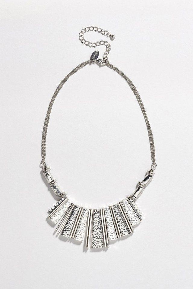 Next Auffällige Halskette in Silver Tone
