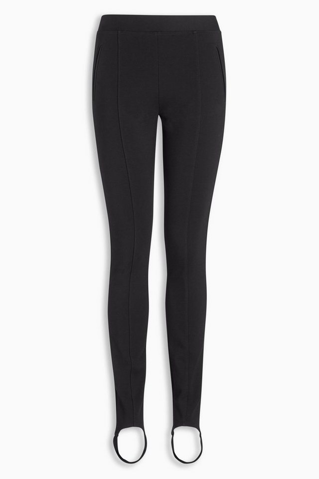 Next Ponte-Leggings mit Fersenband in Black Regular
