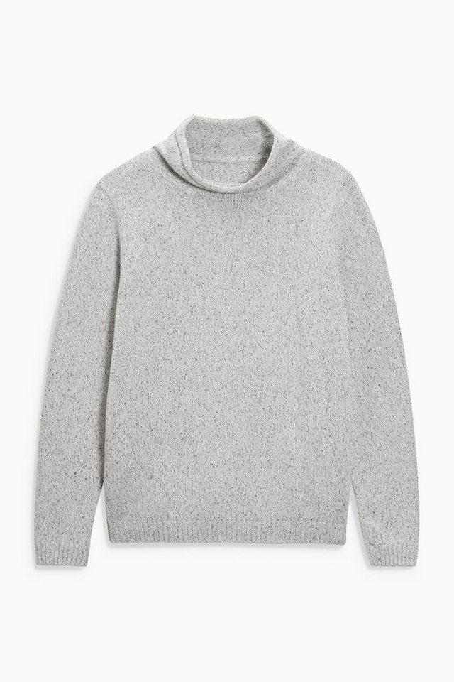 Next Pullover mit strukturierter Oberfläche in Grey