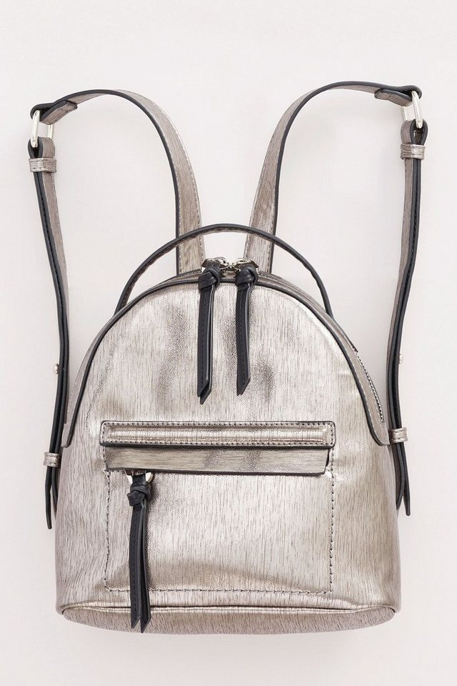 Next Mini-Rucksack in Metallic