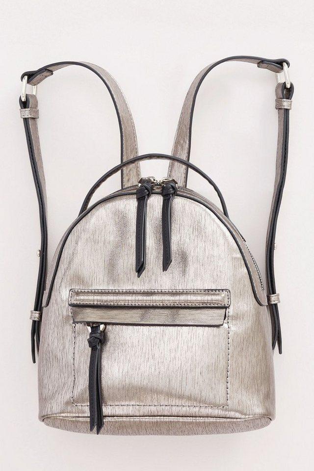 Next Mini-Rucksack in Metallic