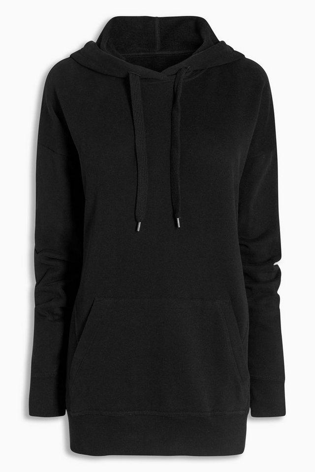 Next Kapuzensweatshirt in Black