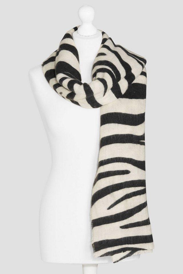 Next Schal mit Zebramuster in Monochrome Zebra