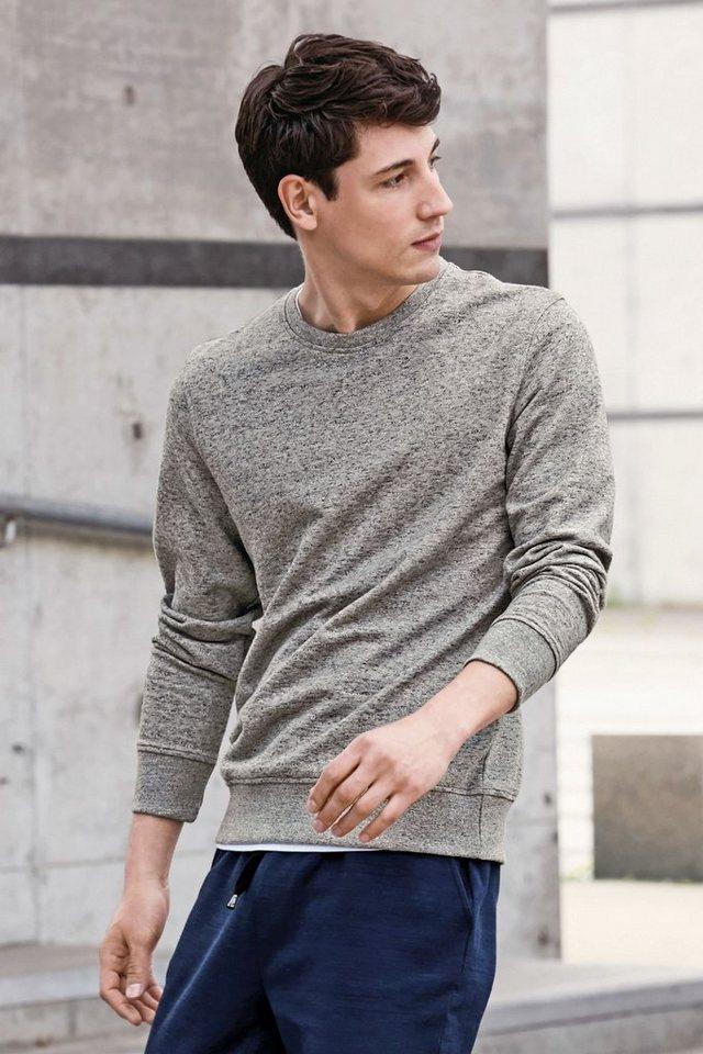 Next Sweatshirt mit Rundhalsausschnitt in Grey