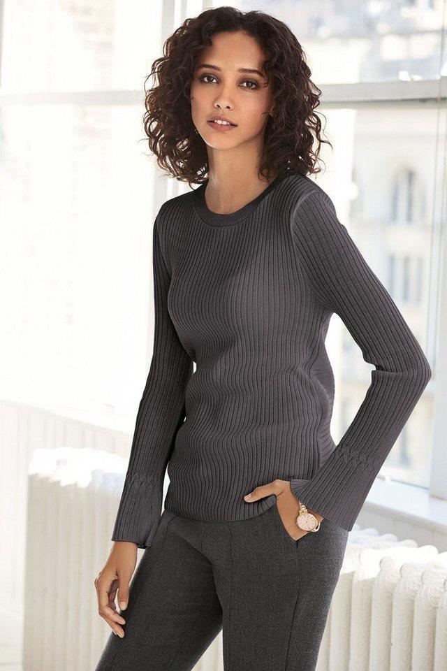 Next Pullover mit drapierter Rückseite in Charcoal