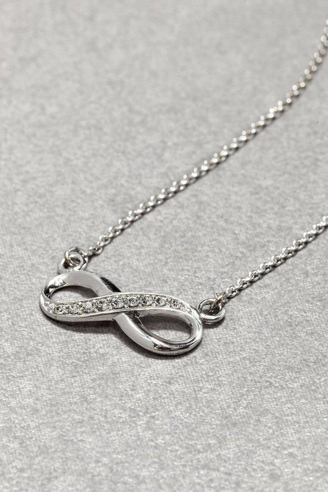 Next Halskette aus Sterlingsilber mit Infinity-Anhänger in Sterling Silver