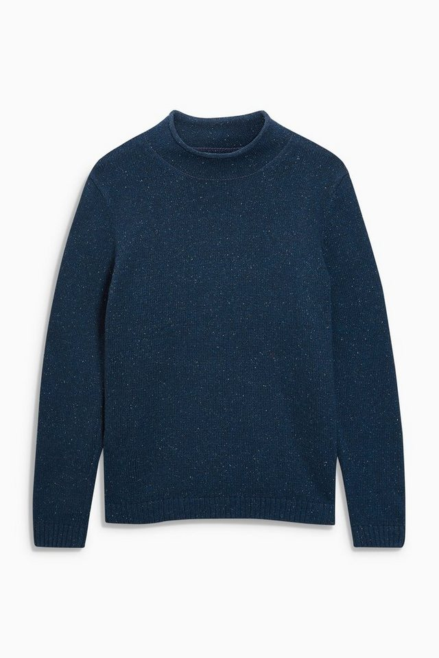Next Pullover mit strukturierter Oberfläche in Navy