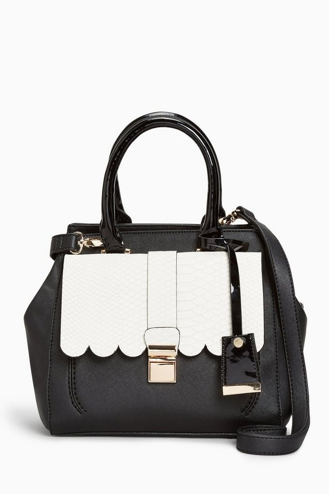 Next Mini-Handtasche in Monochrome