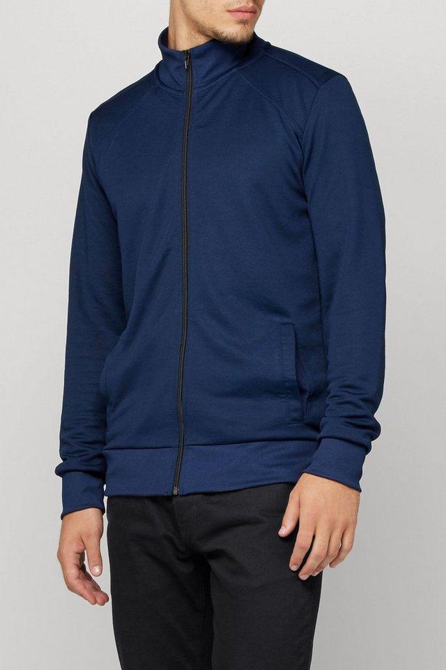 Next Jacke mit Reißverschluss und Stehkragen in Blue