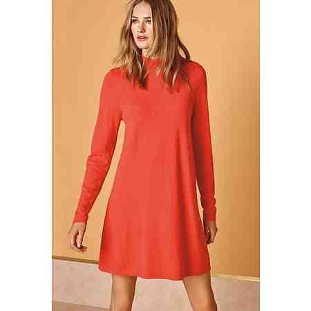 Next Kleid mit hohem Ausschnitt