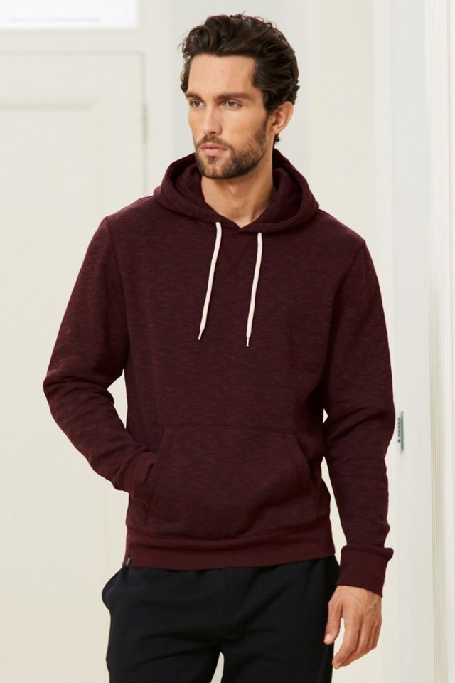 Next Kapuzensweatshirt in Burgundy