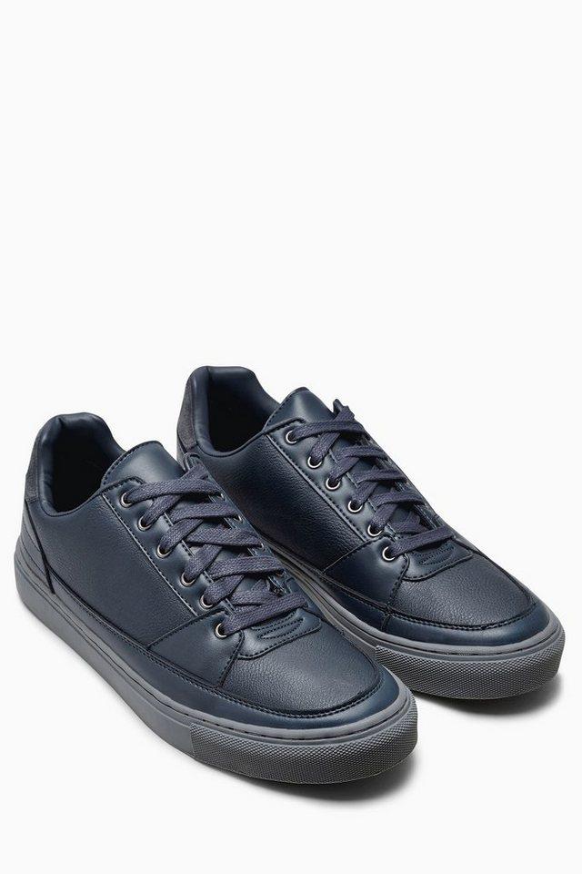 Next Sneaker mit Steppdetails in Navy