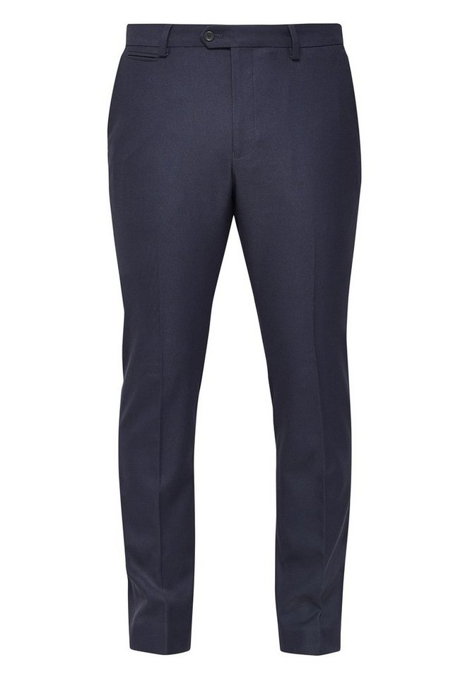 Next Hose mit Flatfront in Navy Skinny Fit