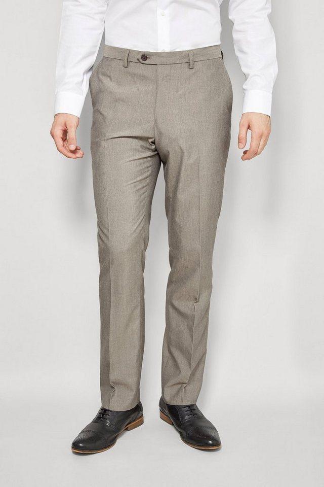 Next Hose mit Flatfront in Taupe Slim Fit