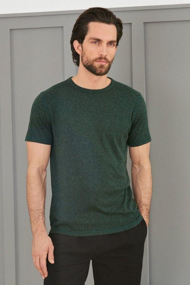 Next Weiches T-Shirt in Green Marl