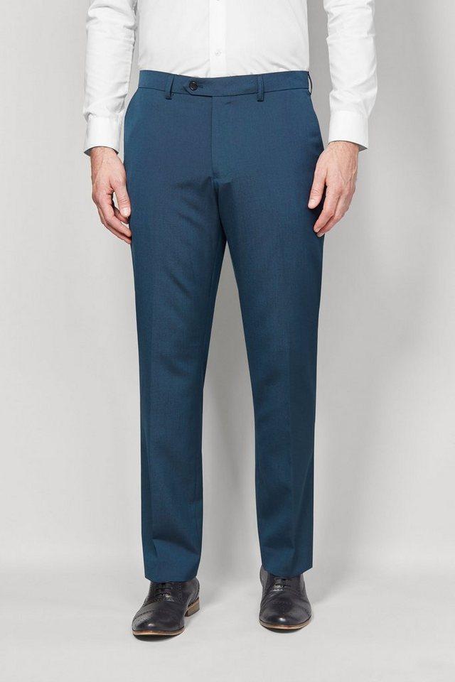 Next Hose mit Flatfront in Light Blue Regular Fit