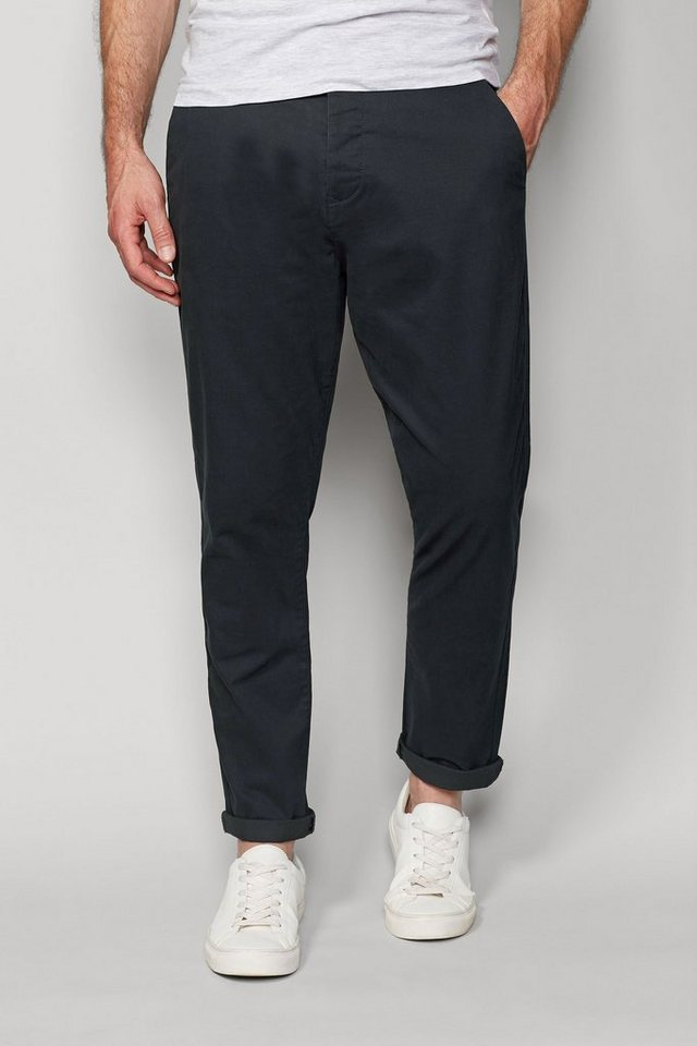 Next Stretch-Chinohose in Ink Tapered Fit