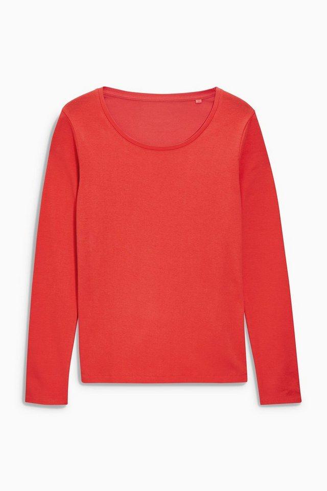 Next Shirt in Bright Red Regular