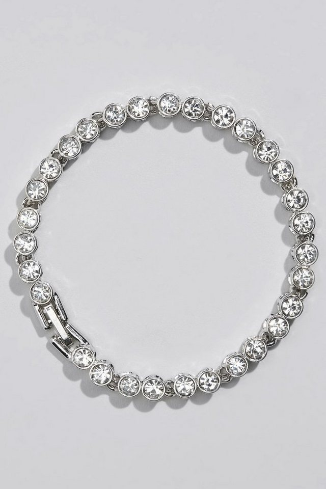 Next Armband in Silver Tone
