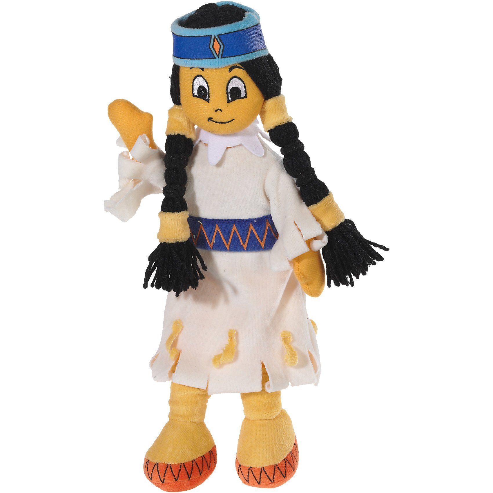 Heunec Yakari Puppe 30cm Regenbogen