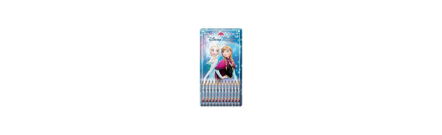 Buntstifte Disney Die Eiskönigin in Metalldose, 12 Farben