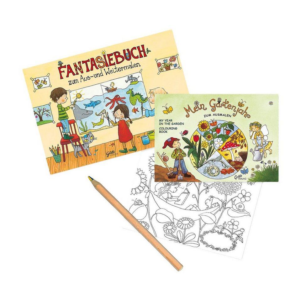 Grätz Verlag Ausmal- und Fantasieset, 3-tlg.