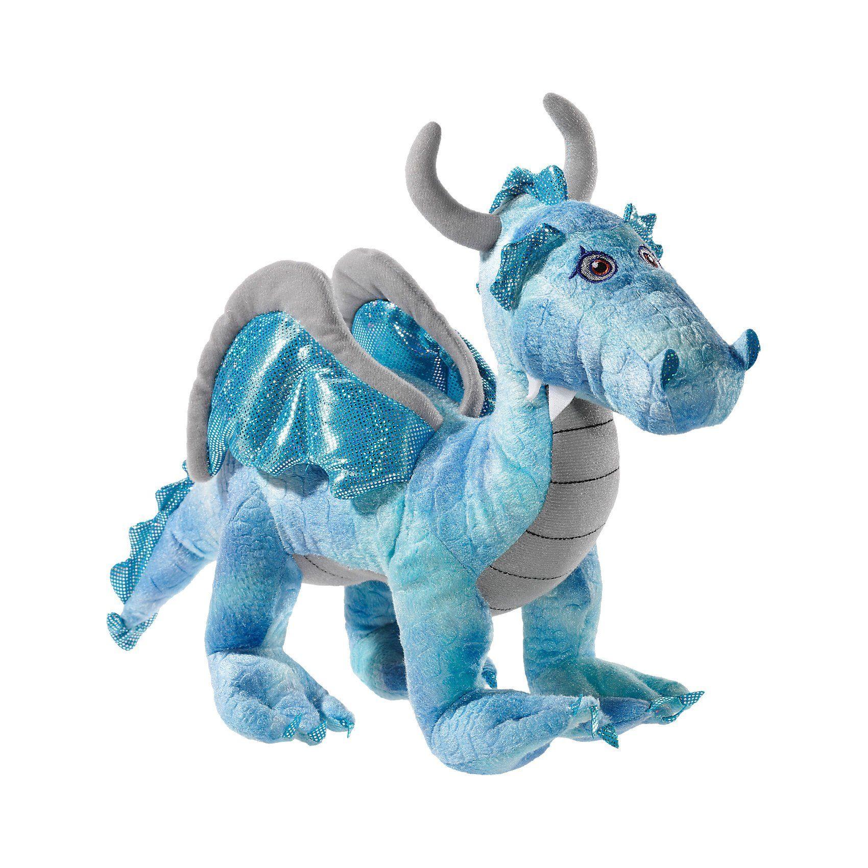 Heunec Drache 35 cm stehend blau