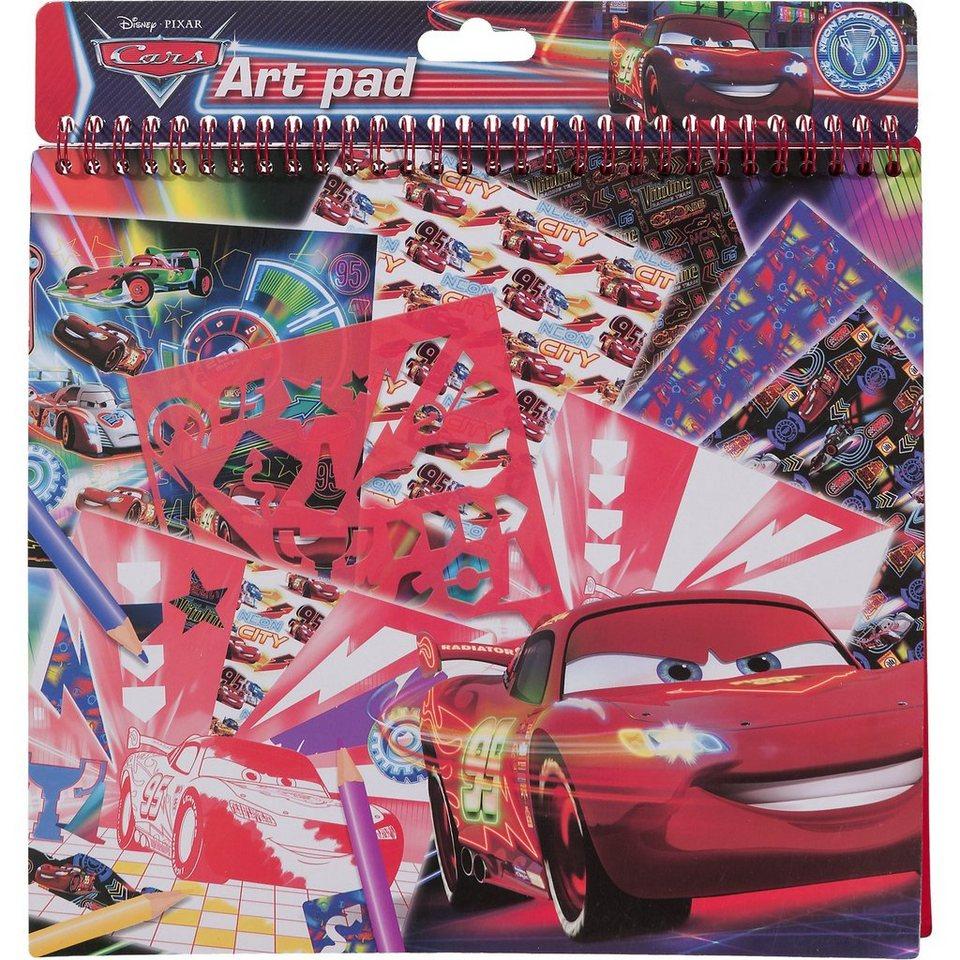 Malbuchset mit Stickern Disney Cars, 35-tlg.