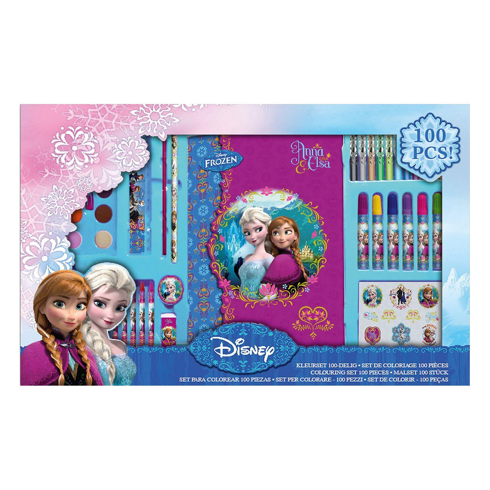 Malset XXL Disney Die Eiskönigin, 100-tlg.