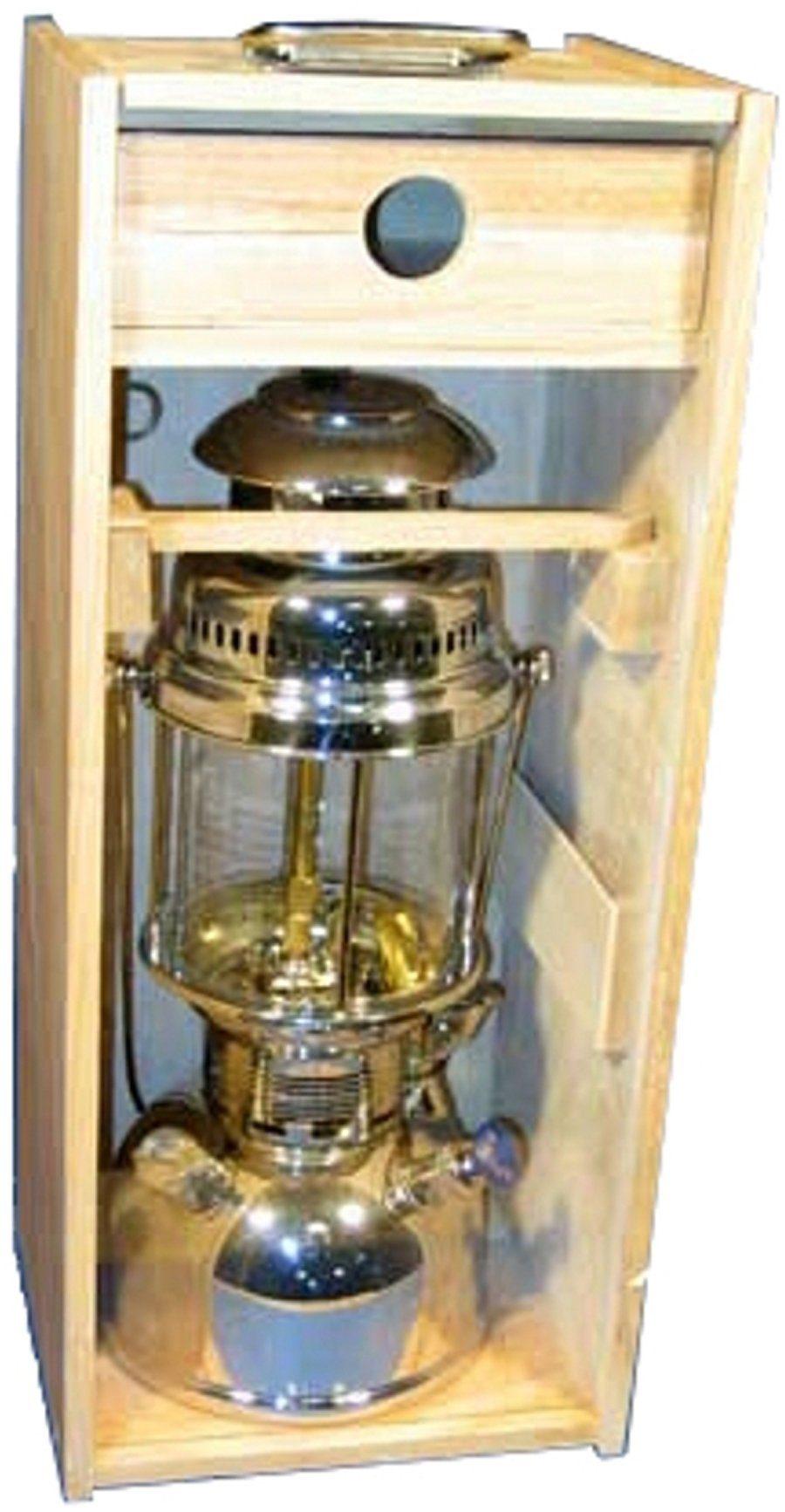 Petromax Camping-Beleuchtung »Holzbox mit Plexiglasscheibe«
