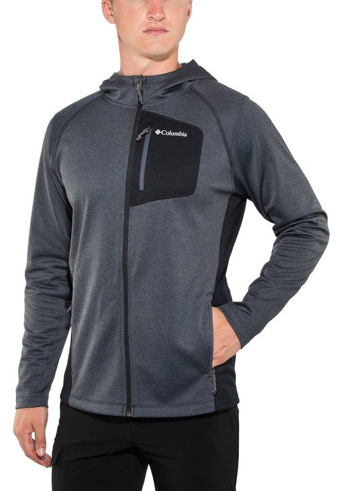Columbia Outdoorjacke »Jackson Creek II Hoodie Men« in schwarz