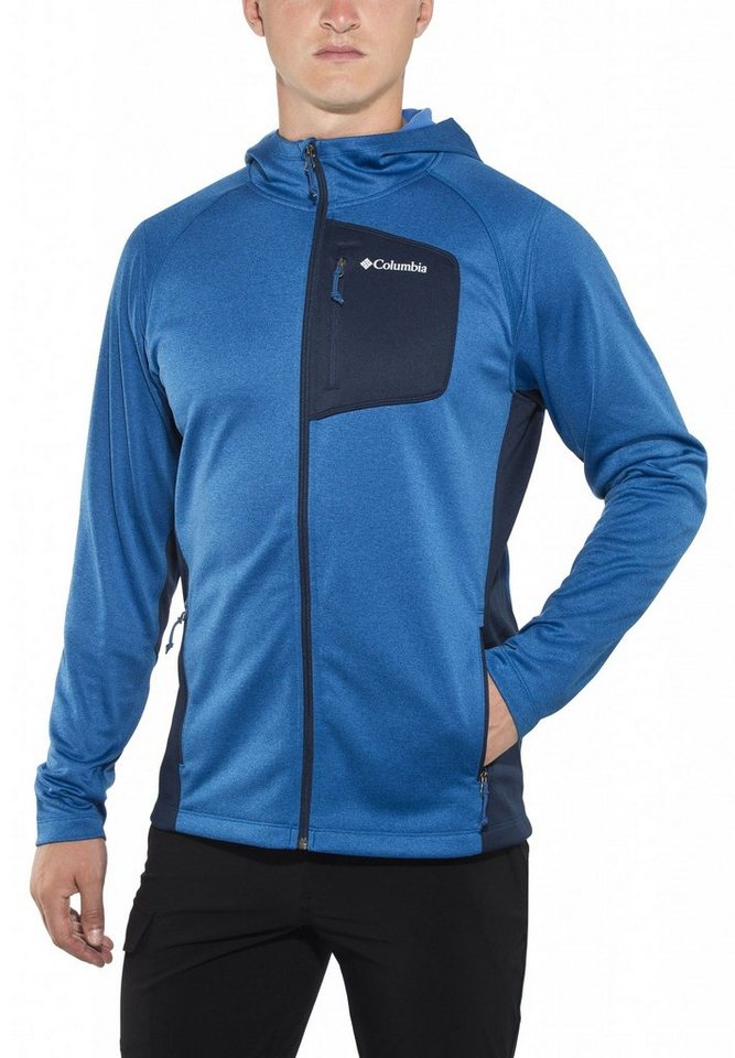 Columbia Outdoorjacke »Jackson Creek II Hoodie Men« in blau