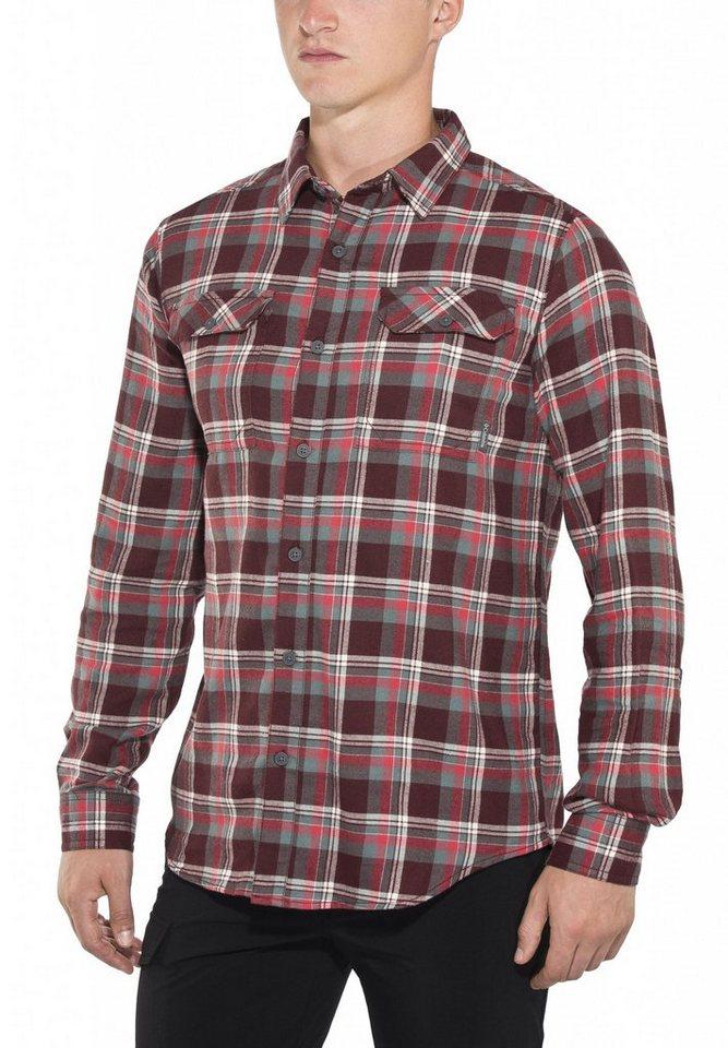Columbia Hemd »Flare Gun Flannel Long Sleeve Shirt Men« in rot