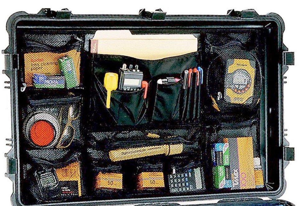 Peli Campingtruhe & -Kiste »Deckeleinsatz/Foto-Organizer f.1660« in schwarz