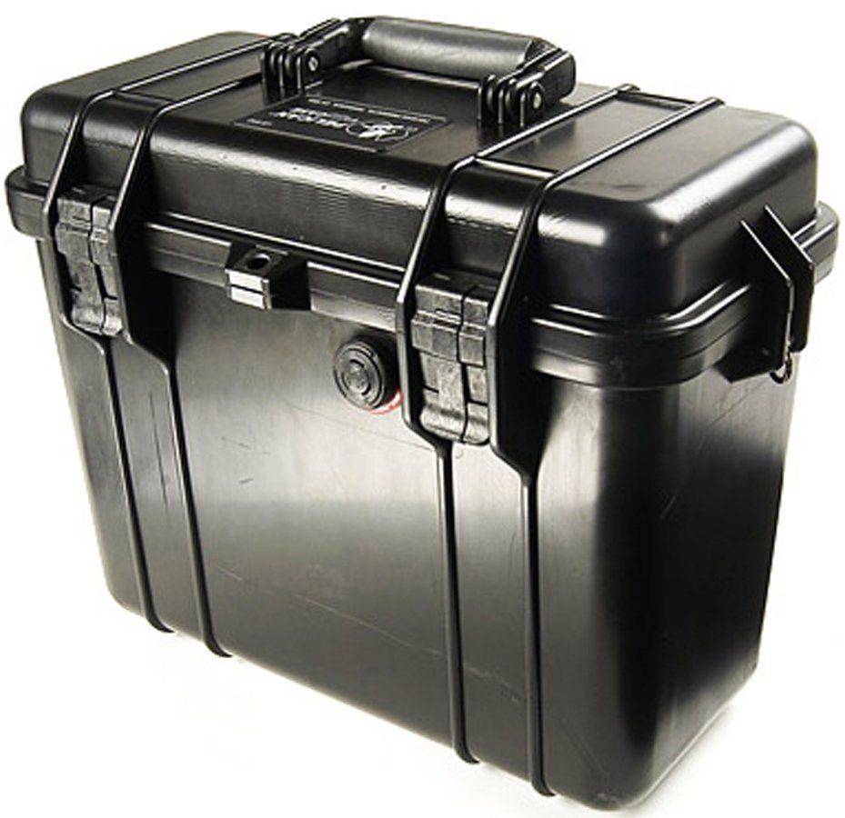 Peli Campingtruhe & -Kiste »1430 Top Loader mit Schaumeinsatz« in grau